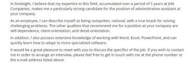 3 Winning Administrative Assistant Cover Letter Examples