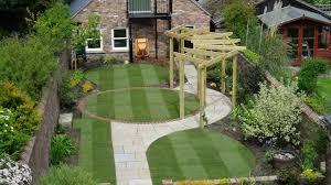 Large Rectangular Garden Design Ideas