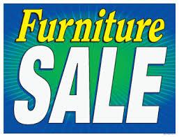 furniture sale sign. Furniture Sale Sign A