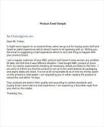 Complaint Format Impressive 48 Complaint Email Examples Samples DOC