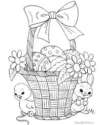 Easter Coloring Pages Disney 09 Easter Spring Coloring