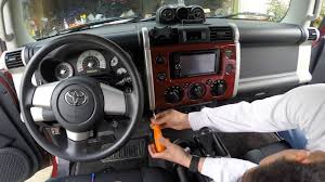 Fj Cruiser Airbag Light Fj Cruiser How To Remove Dash Panel How To Install Rocker Switch Access Radio Head Unit