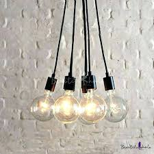 awesome multi bulb chandelier and bulb pendant light fixture simple designer bulb black led multi light best of multi bulb chandelier