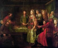 Свадебные традиции песни обычаи и обряды свадьбы на картинах  7 секретов традиционной русской свадьбы Галерея 1