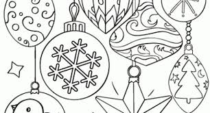 Small Picture christmas ornament coloring sheets free Archives Cool Coloring