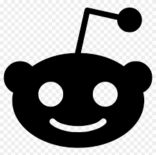 The most renewing collection of free logo vector. Reddit Alien Comments Reddit Logo Black And White Free Transparent Png Clipart Images Download