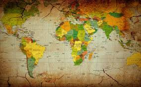 Map Of The World Background World Map Wallpaper 6254 2560x1600px