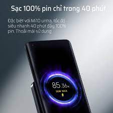 Đế Sạc Nhanh Không Dây Xiaomi Mijia 55w Tích Hợp Quạt Làm Mát Không Khí -  Hàng Nhập Khẩu | Tech Shark