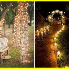 Creative outdoor lighting ideas Diy Outdoor Stunning Creative Outdoor Wedding Lighting Ideas Reception Makeovers Lovidsgco Outdoor Lighting Idea Landscape Ideas Diy Inexpensive Weatherproof