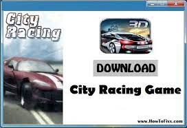 city racing 3d game for windows xp