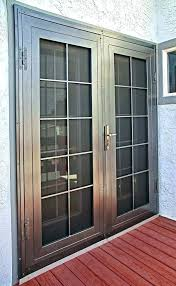 french door security bar. Contemporary Bar Outswing Door Security Bar Double First Impression  Doors French Colonial E Single To O