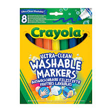 """Смываемые <b>фломастеры Crayola</b> """"<b>Супер чисто</b>"""" с толстым ..."""