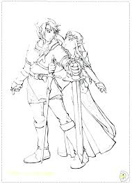 Coloring Pages Zelda Coloring Pages Link Legend Of The Princess