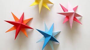 hang some diy paper star lanterns