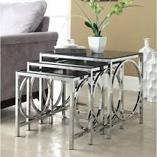 coloured nest of tables glass nest of tables uk 3 stackable tables side tables and nests coffee table and nest of tables