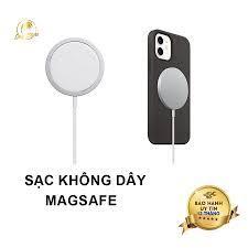 Sạc không dây MagSafe dùng cho iphone 12, 12 pro, 12 pro max và các dòng  máy hỗ trợ sạc không dây chuẩn Qi tại Hà Nội