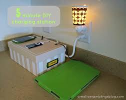 5 Minute Charging Station - Creative Ramblings