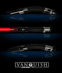 Saberforge Light Whip Blade Saberforge Vanquish Curved Saber Custom Lightsaber