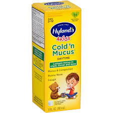 Hylands 4 Kids Cold N Mucus Relief Liquid Natural Relief