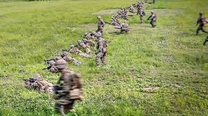 Us Army Platoon Platoon Attack On Mock Enemy Position U S Marines Conduct Training In S Korea