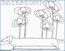 Free Printable Dachshund Coloring Pages Inspirational Free Coloring