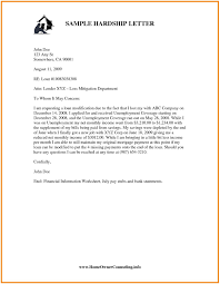 15 Hardship Letter For Loan Modification Template Samples Letter