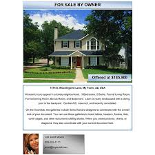 home for sale template free examples of advertising flyers download free flyers with ease
