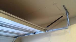 extension springs garage door diy first time garage door opener installation 20160104 163535