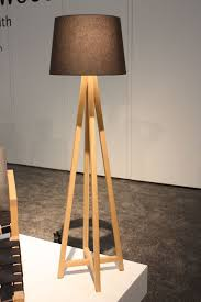 another elegant wooden floor lamp is from canada s christopher solar design available in white oak