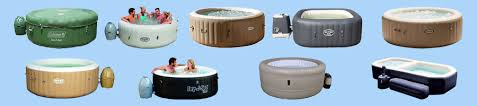 inflatable hot tub center image