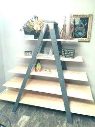 4 ft wood ladder 4 foot wood ladder 8 foot wooden ladder shelves 8 ft wood