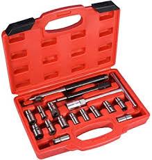 <b>17 pcs Diesel</b> Injector Seat Cutter Set Hand Tool Sets Home & Garden