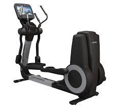 fitnesszone life fitness platinum club series elliptical w discover se console