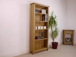 Modern Oak Living Room Furniture Nebraska Modern Oak Tall Bookcase Bookcases Living Room