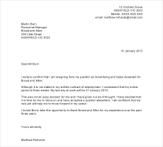 example letter of resignation resignation letter samples writing essay probationary period letter template image gallery