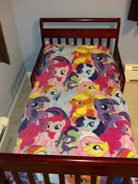 items similar to my little pony toddler comforter on