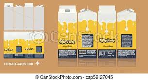 Vector Branding Package Design Milky Chocolate Package Box Design Template Ready Package Design For Milk Drinks