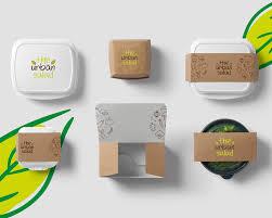 Urban Packaging Design Urban Salad Logo Packages Design Ibtekar Labs