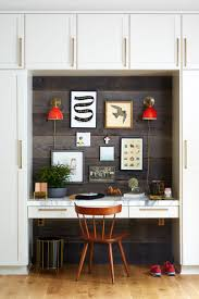 home office in small space. styled new year home office in small space o