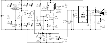 circuit diagram of metal detector project ireleast info metal detector circuit diagrams schematics electronic projects wiring circuit