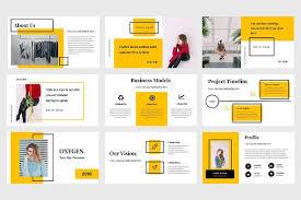graphic design powerpoint templates oxygen powerpoint template by tmint creative on creativemarket