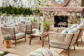 joss and main patio furniture joss and main outdoor dining Julianne Hough Invites You to See Her Newly Revamped Backyard