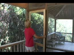 how to install a solid wood screen door from screen you