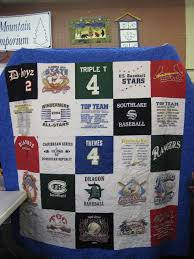 T Shirt Quilt Pattern With Different Size Blocks Gorgeous TShirt Memory Quilts Smoky Mountain Quilt Studio