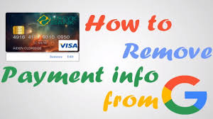 How to remove credit card from google play store on phone. 4 Steps To Remove Credit Card From Google Play Store In 2021