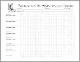 Medication Administration Record Template Medication Administration Record Template Download Stingerworld Co