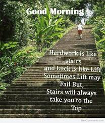 Stairs Quotes Gorgeous HARDWORK IS LIKE STAIRS DesiComments