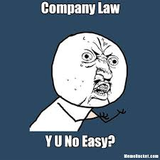Company Law - Create Your Own Meme via Relatably.com