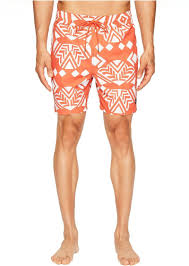 Jack Spade Size Chart Exploded Mexican Flower Swim Trunks