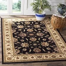 safavieh lyndhurst collection lnh553 9012 traditional flo s safavieh lyndhurst traditional oriental black ivory rug